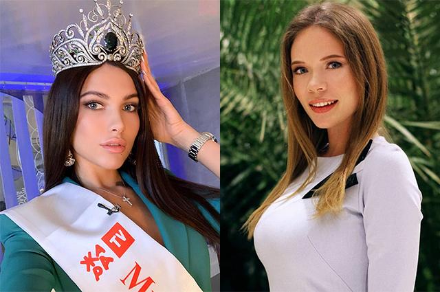 """Победительницу конкурса """"Мисс Москва"""" официально лишили титула и передали корону вице-мисс Новости моды"""