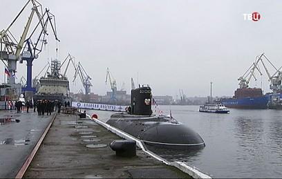 """Подлодку """"Великий Новгород"""" передали ВМФ России"""
