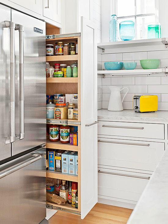 Маленькая, да удаленькая! Умные решения для организации пространства кухни-крохи