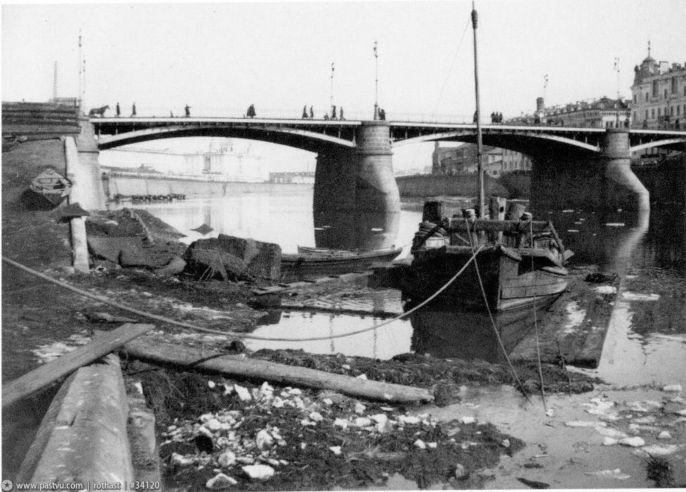 Москворецкий Мост. Фото 1926 года интересное, москва, старые фото, фото