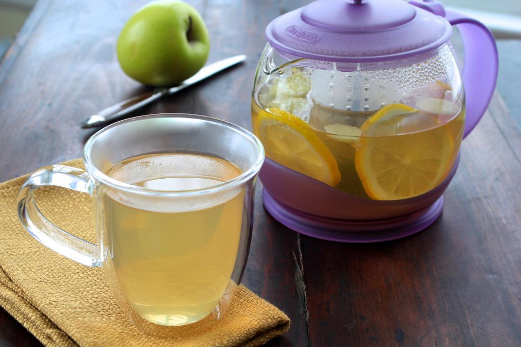 Похудеть с лимонным чаем