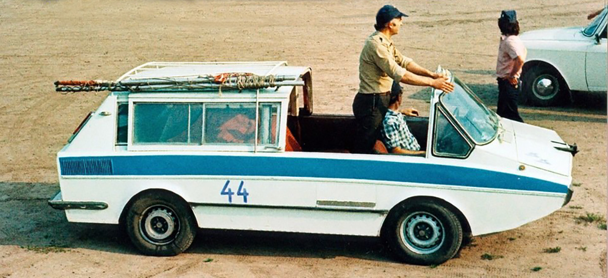 Сделано в СССР: самодельная амфибия «Ихтиандр» Марки и модели,ретро