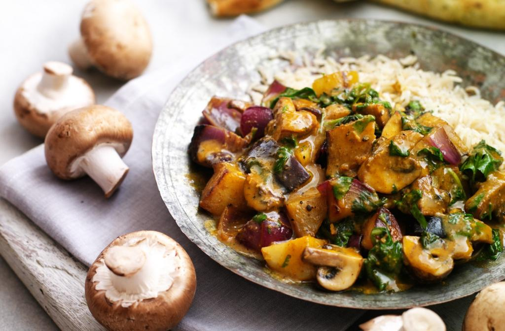 Блюда из лесных грибов рецепты с фото