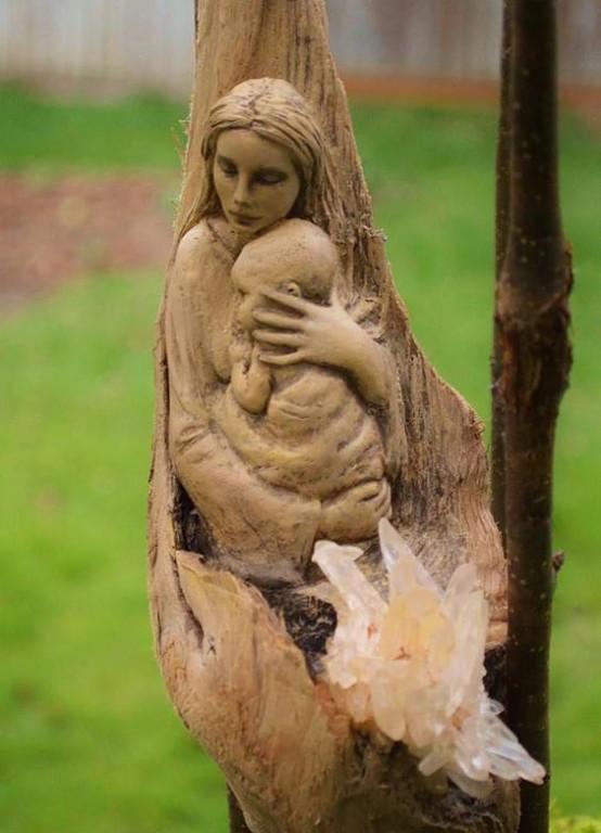 Деревянные скульптуры, как же все-таки фантастично и необычно! из дерева,сделай сам,скульптуры