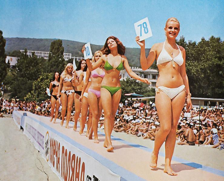 Конкурс красоты в Золотых песках, 1974: СССР, болгария, быт, история, это интересно