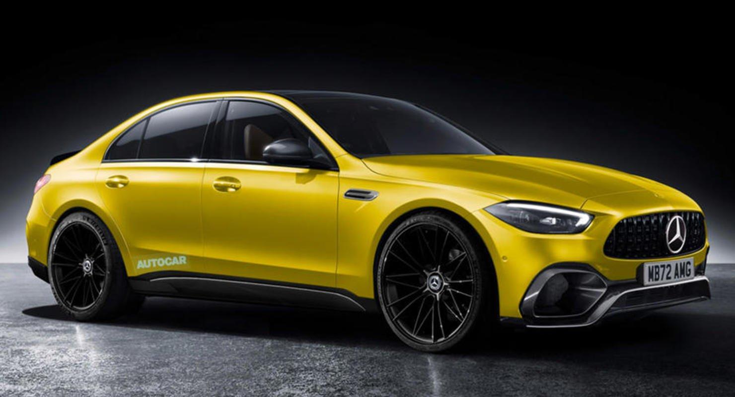 Новый Mercedes-AMG C63e получит технологию F1 и настройку PHEV Автомобили