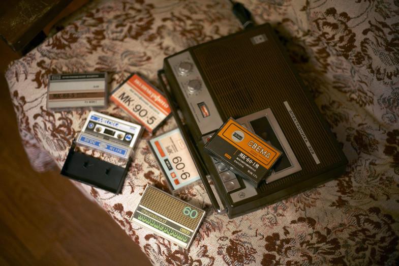 Ностальгии пост... Кассеты, которые шли в комплекте с кассетными магнитофонами