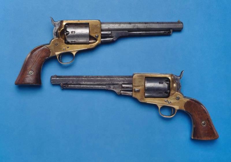 Револьверы из Техаса: реальные и не очень оружие
