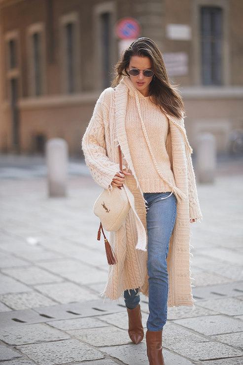 Как носить бежевый: идеи для всех типажей гардероб,мода,мода и красота,модные образы,модные тенденции