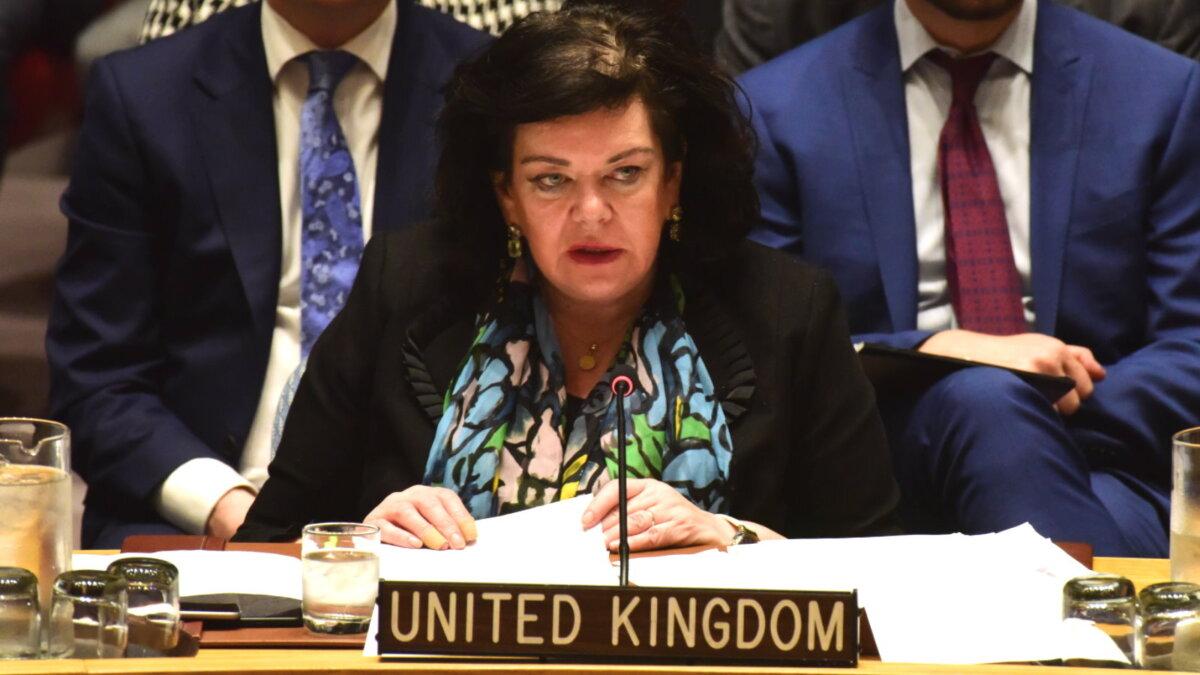 Британский посол заявила, что РФ и КНР не должны выйти победителями из пандемии
