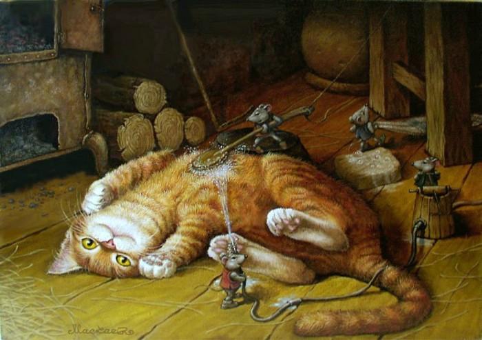 Сказочные приключения кота Кузьмы. Новый год 100 лет назад
