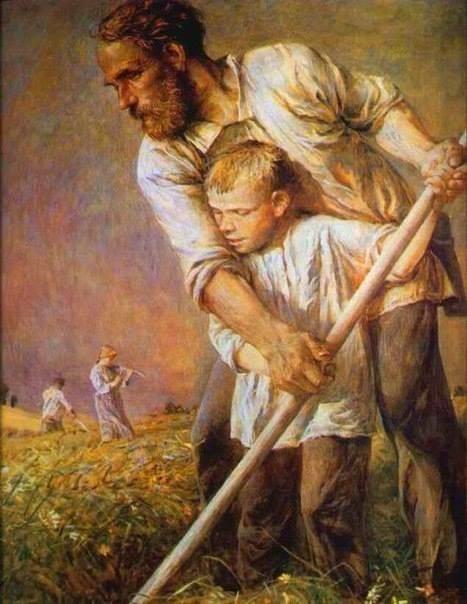 Как славяне сыновей воспитывали