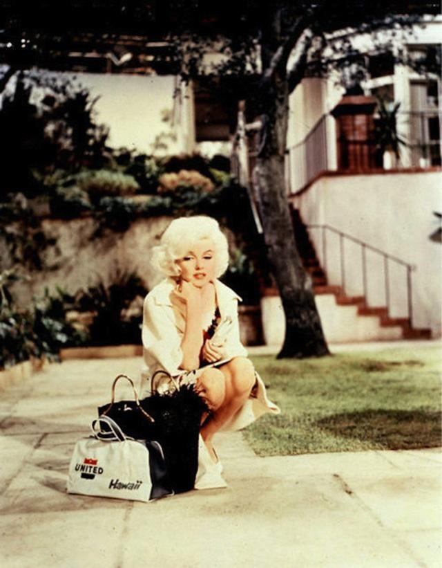 Фото съемок последнего незаконченного фильма с Мэрилин Монро