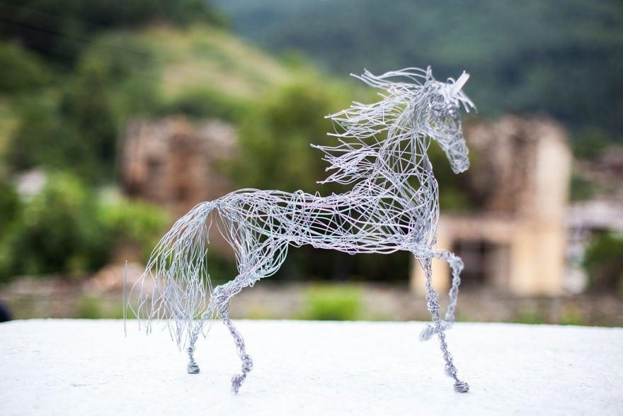 В руках мастера даже проволока превратится в произведение искусства вдохновляемся,поделки