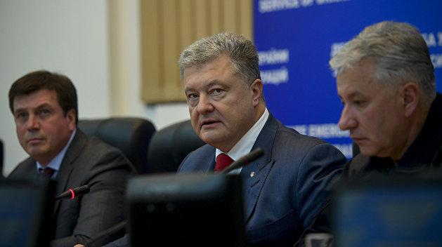 Дно: Порошенко призвал украи…
