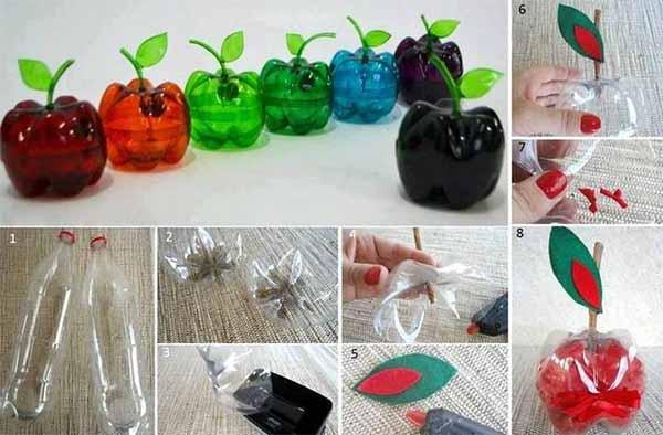 Крутые идеи для использования пластиковых бутылок