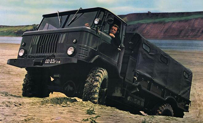 ГАЗ-66: копия, ставшая легендой