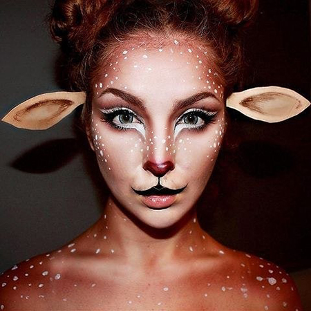 Хэллоуин близко: 55 вариантов макияжа под маску Тренды