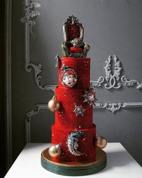 Шедевры кондитерского искусства от Елены Гнут выпечка,мастерство,творчество