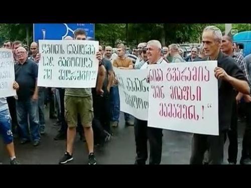Грузинские виноделы предложили гендиректору «Рустави–2» помочиться на собственную семью