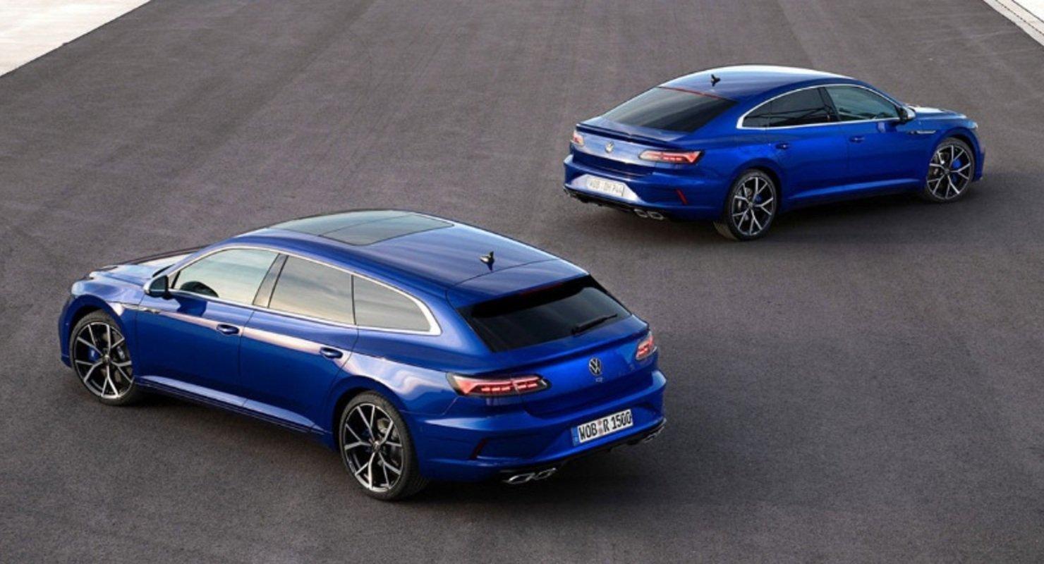 Volkswagen Arteon R и Arteon R Shooting Brake появились в продаже в Британии Автомобили