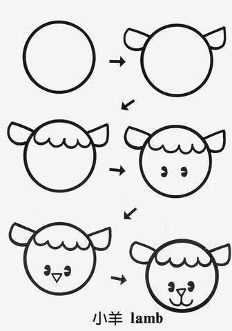 Звери из кругов картинки