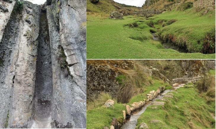 В Перу найден загадочный водный канал инков доказательства