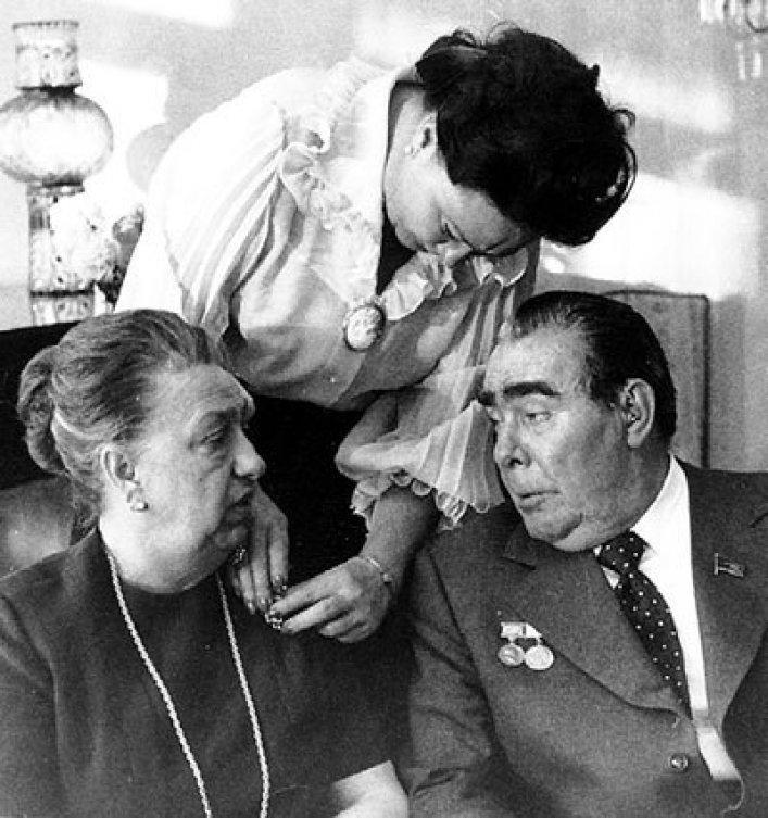 Брежнев и его семья смотреть фотографии