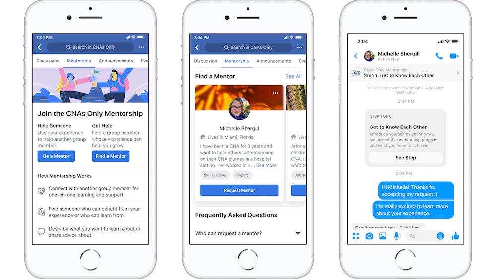 Facebook запустил новый сервис для поиска работы