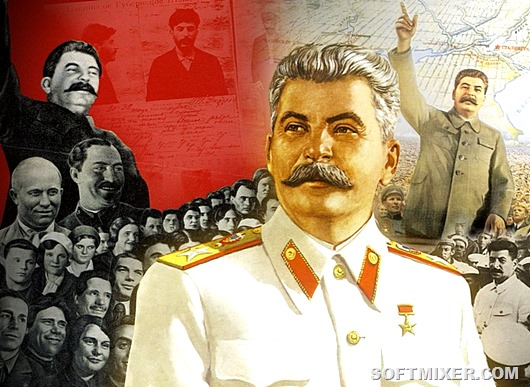 Сталин: жизнь и борьба велик…