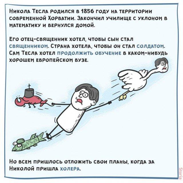 Краткая история жизни Николы Теслы