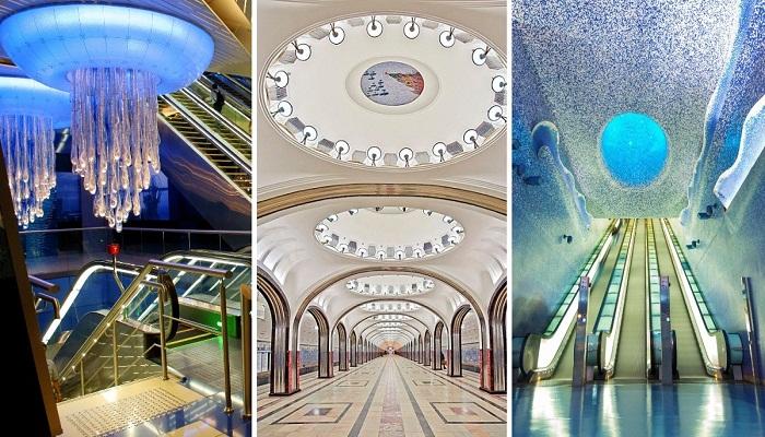 Самые запоминающиеся станции метрополитена, по которым хочется бродить часами