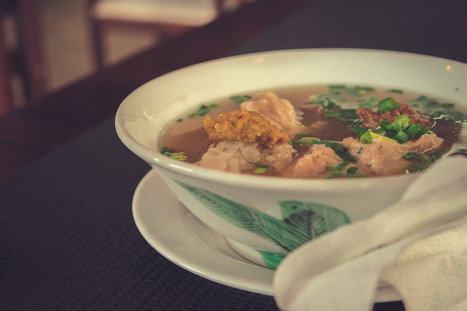 Суп из телятины с рисом