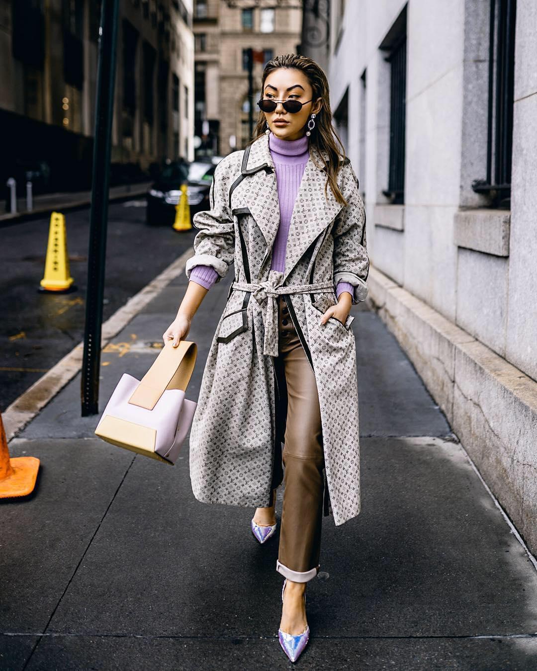 осенний уличный стиль 2019 фото 17