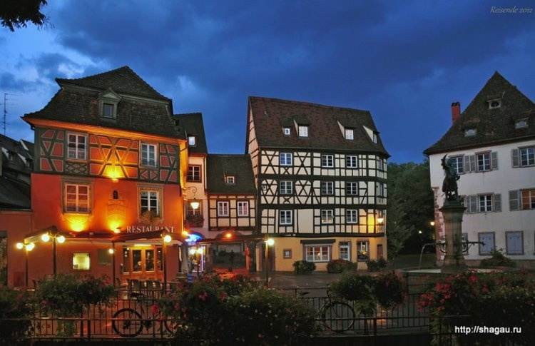 Кольмар, Colmar - самый красивый город Эльзаса, Франция фотография 2