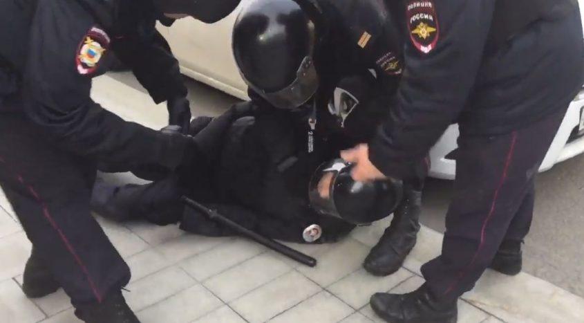 На марше Навального 26 марта…