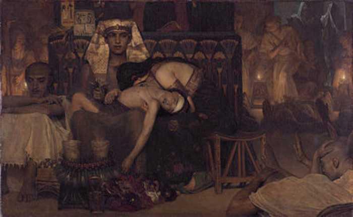 Не было ни одного дома в Египте, где не оплакивали бы первенца.