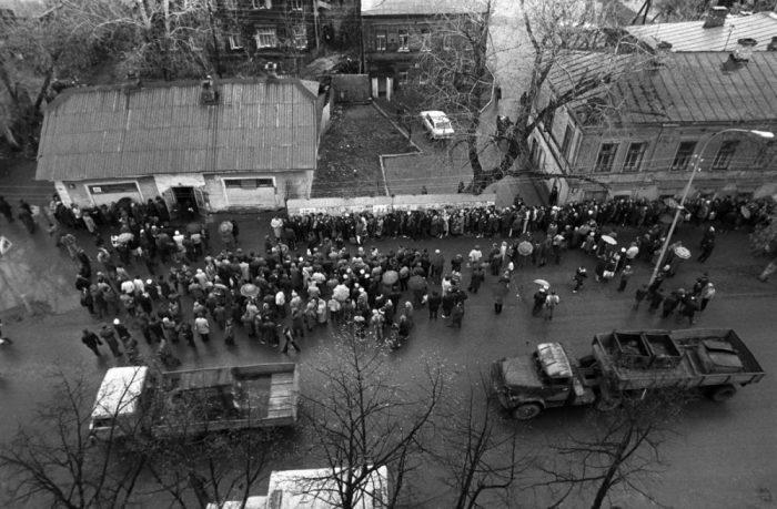 СССР на излёте: советская реальность 1990-х в объективе неизвестного фотографа