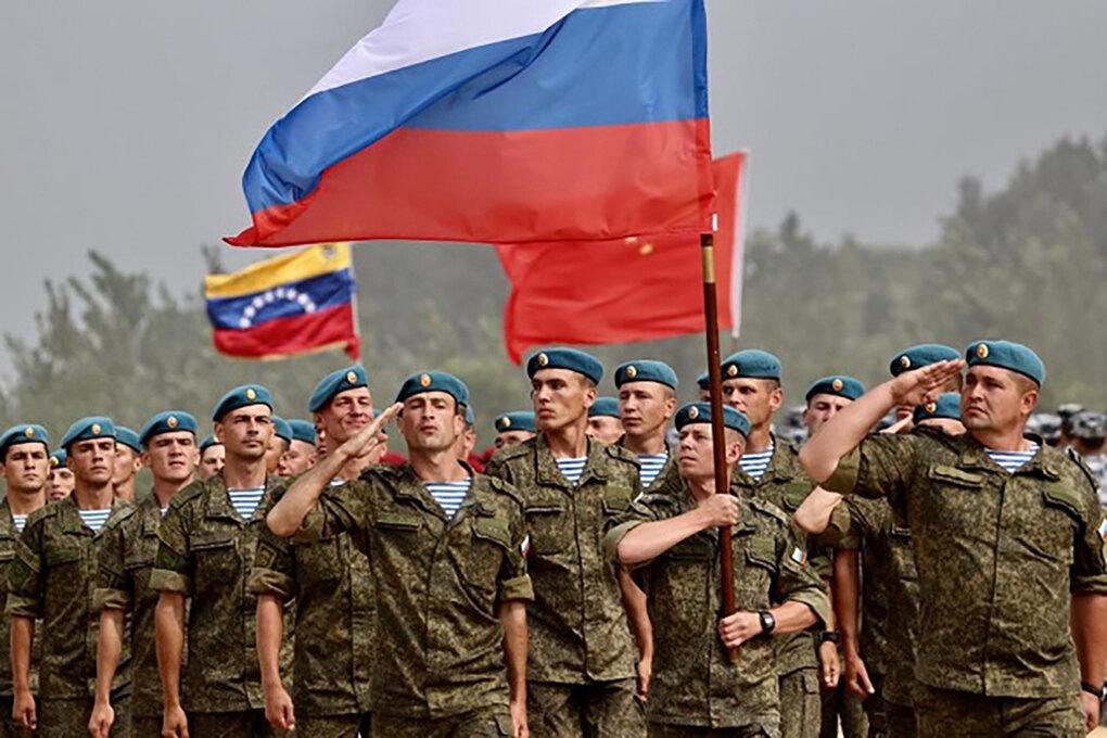 Российские военные в Венесуэле. Источник изображения: https://vk.com/denis_siniy