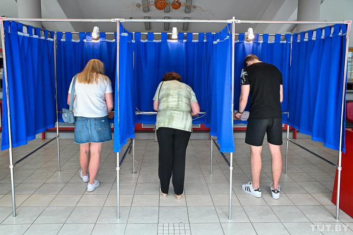 ЦИК огласил окончательные итоги выборов. За Лукашенко проголосовало 80,1%, за Тихановскую — 10,1% Белоруссия,выборы,Лукашенко,общество
