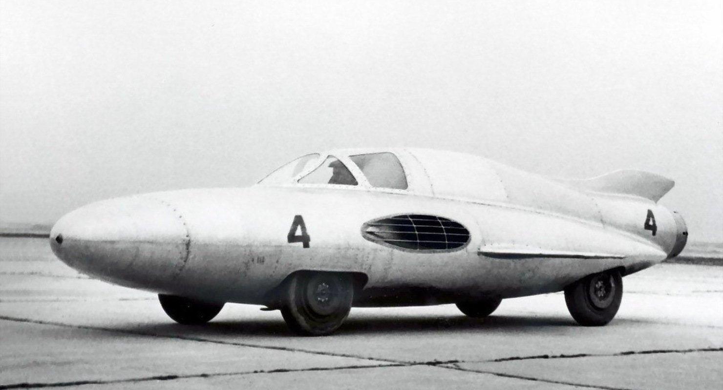 ГАЗ-ТР — советский спорткар с двигателем от самолета Автомобили