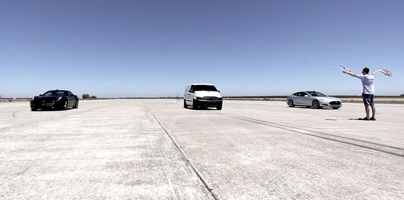 Китайский электроминивэн Edna обогнал Ferrari и Tesla Model S