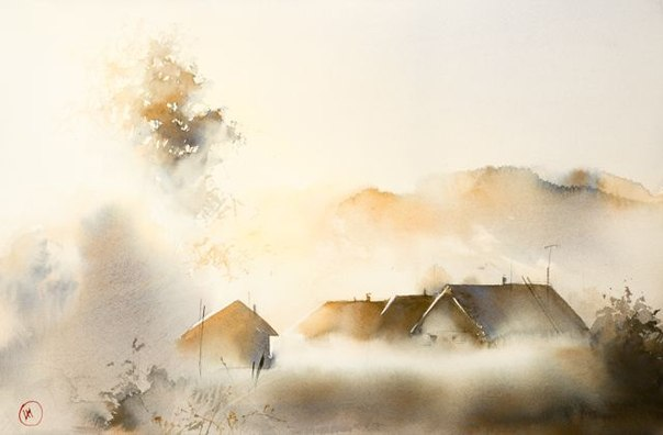 художник Илья Ибряев мастер тумана