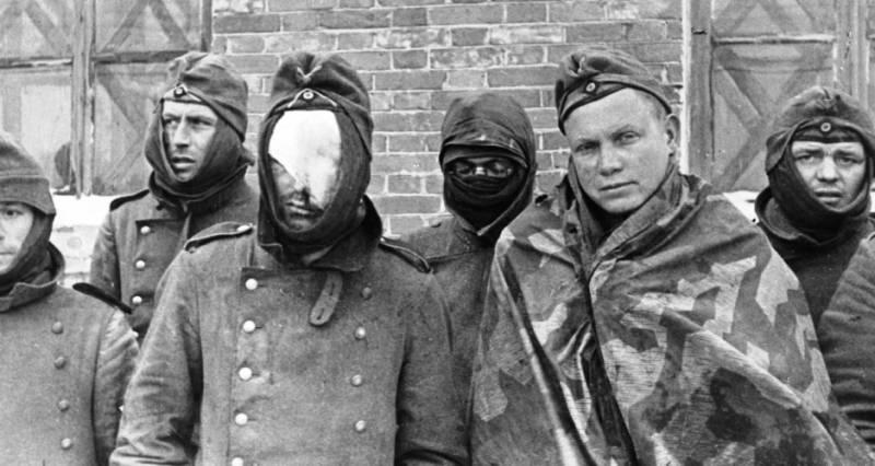 Как немецкие солдаты в Крыму замерзали