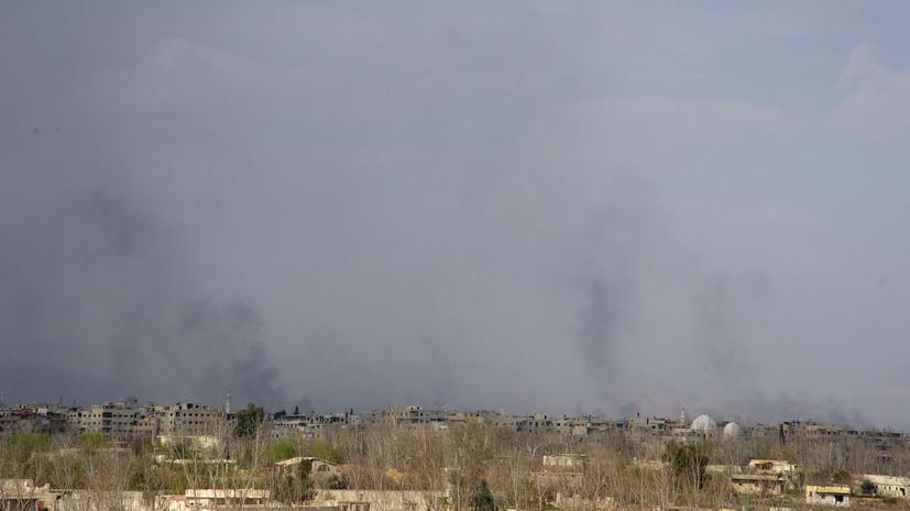 Минобороны готово при необходимости ответить на возможный удар США по Дамаску