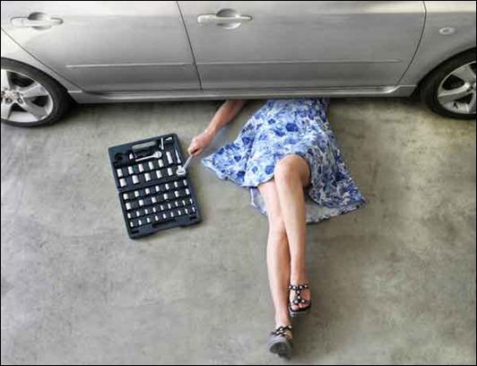 Главное, что должна уметь женщина-водитель