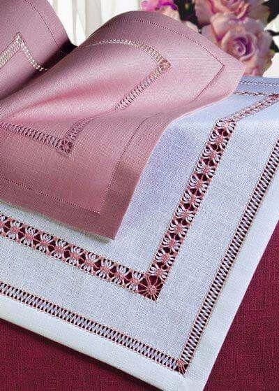 Салфетки с мережкой — красивые идеи и советы по вышивке