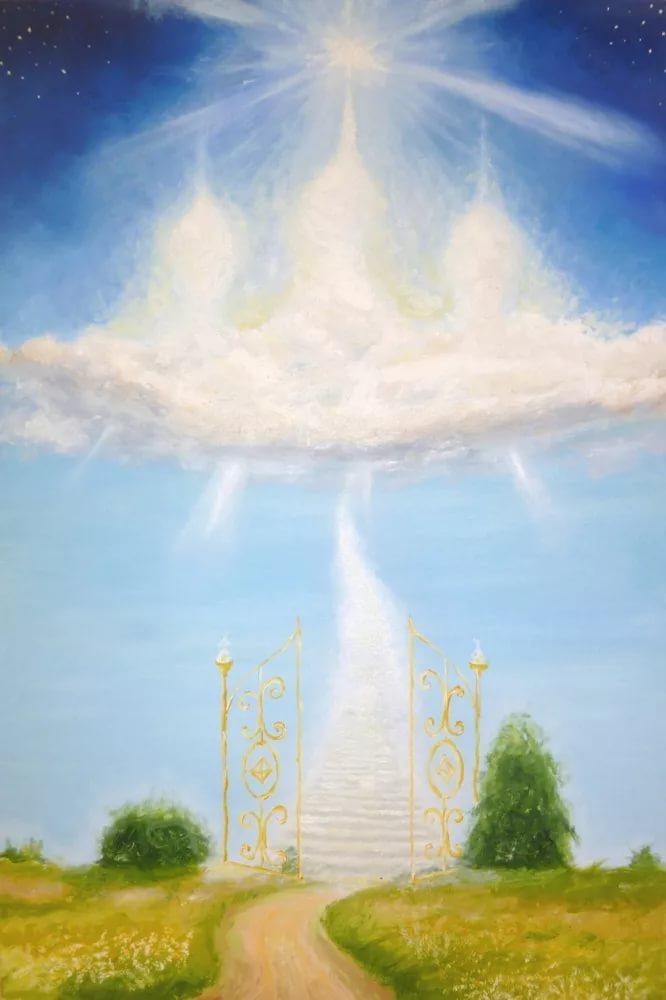 ссылки рисунок мир духовный и мир земной современной постройки имеет