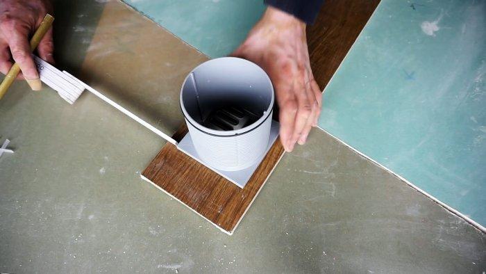 Как болгаркой сделать идеально ровное квадратное отверстие в плитке ремонт и строительство
