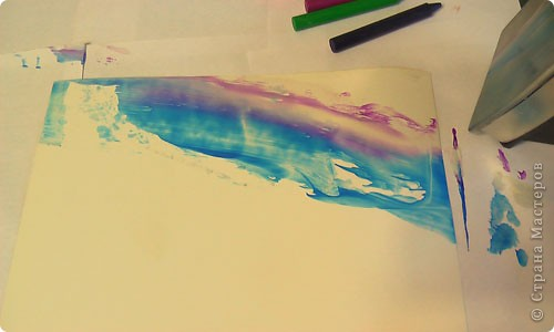 Картина, панно, рисунок, Мастер-класс Энкаустика: как я рисую утюгом Воск. Фото 4